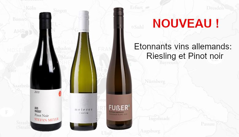 Slider vins allemands